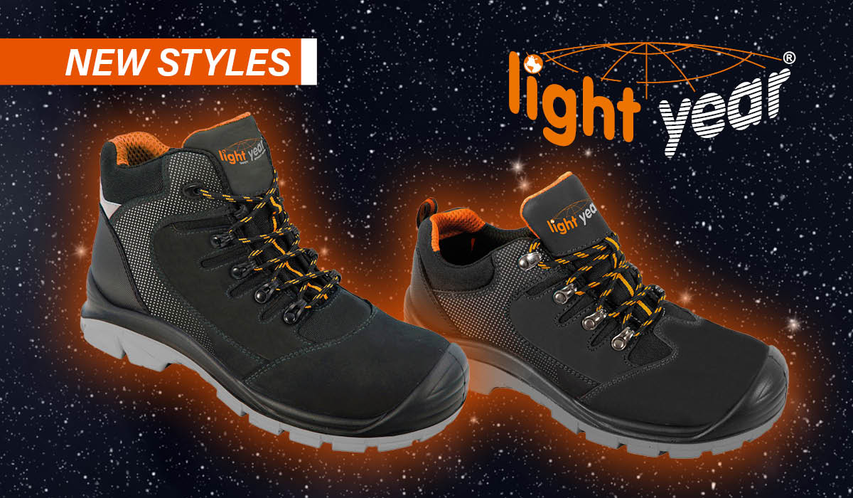 bef65730c13 STAY LIGHT ON YOUR FEET – WITH LIGHTYEAR FOOTWEAR @CladSafety ...